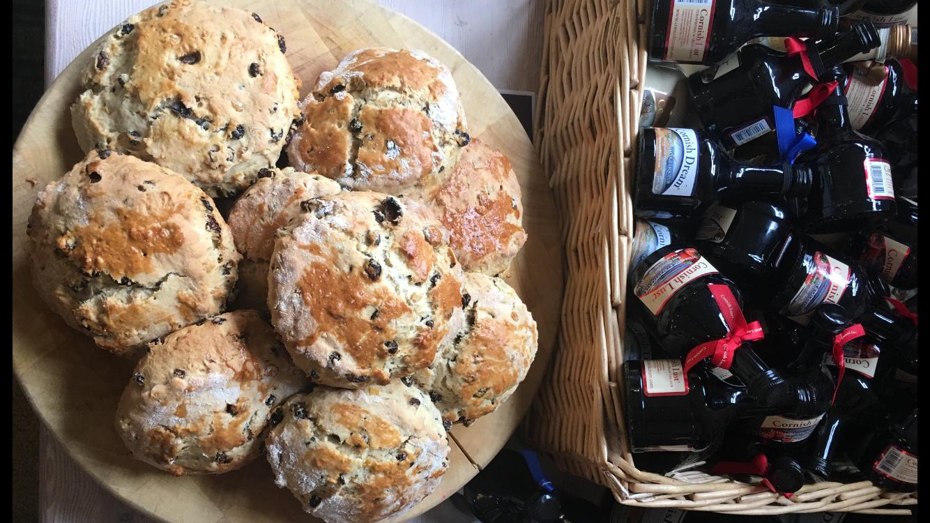 Cornish Scones and Jam cream tea